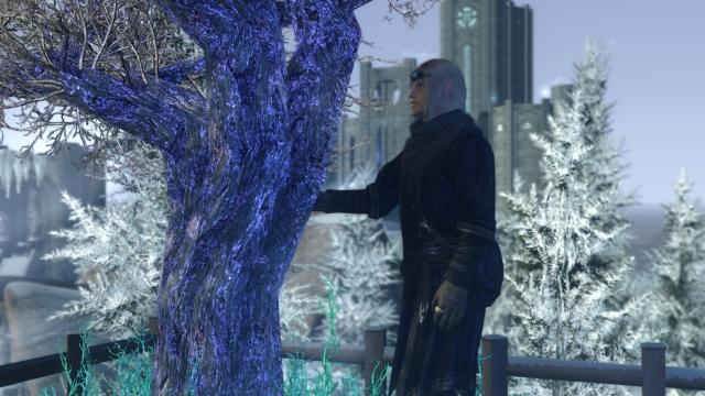 It is cold in Winterhold
