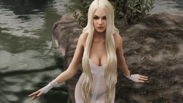 Белая цапля
