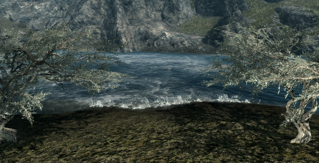 текстуры воды разные вариации и направления потоков + водопады ) много всяких фишек