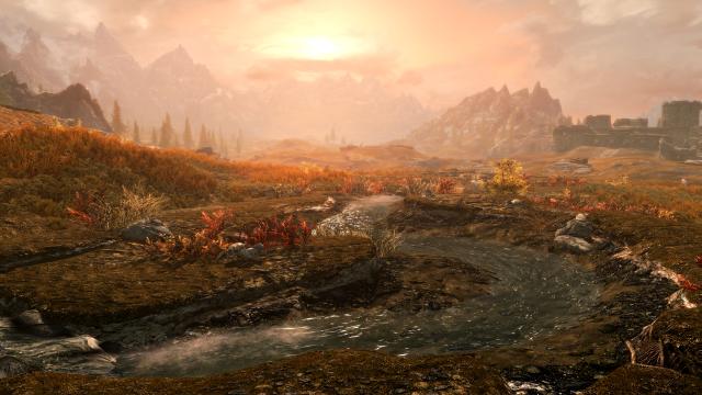 Тундра Skyrim Special Edition