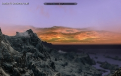 Закат в Скайрим