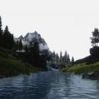 Просто река ! просто из далека !