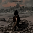 Чуден Вайтран при зимней погоде