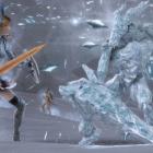 Битва с ледяными Атронахами 1