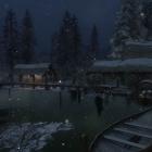 Зимний вечер в Морфале