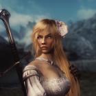 Golden hair she-elf