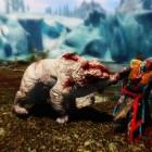 Бой с белым медведем