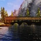 """Новый ривервудский мост (мод """"Мосты Скайрима"""")"""