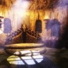 Skyrim (new - 85. Маски и новая трофейная броня драконьих жрецов, Немного Ревакейма)