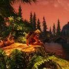 Вечерний отдых на берегу реки