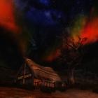Яркая ночь над фермой Лорея