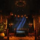 Храм всех Богов в Солитьюде (ночью и днем)