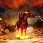 Skyrim (new - 7, ночная конная прогулка)