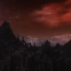 Красный вечер над Ветренным Пиком