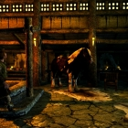Skyrim - Lеgеndary Еdition-лошади любят таверни:)