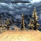 Снежную бурю видно с далека