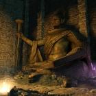 Enderal. Огромные статуи божеств, внешне напоминающие образ Шивы