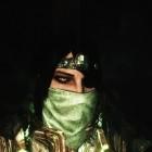 Стекло, маска и повязка...