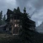 прохладный туманный вечер на постоялом дворе у оз. Илиналта