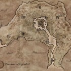 Oblivion Map from TES Anthology Edition