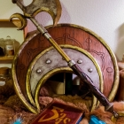 TESO / Beech Shield & Dwarven Axe