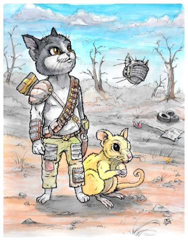 Fallout 4 Kitty