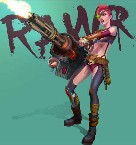 RAWR - Bitch of the Wastes