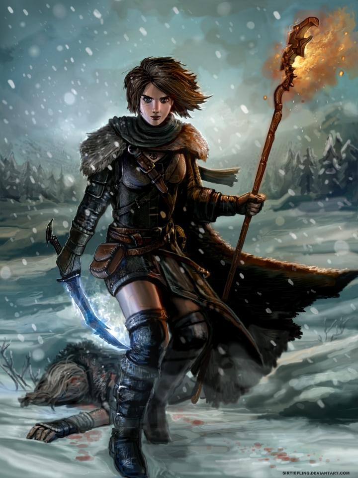 Bloody Snow of Skyrim