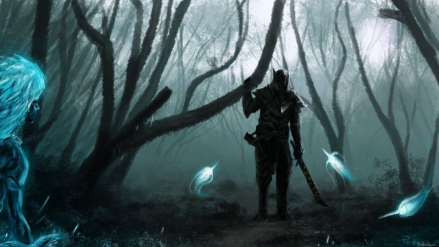 Эбонитовый воин