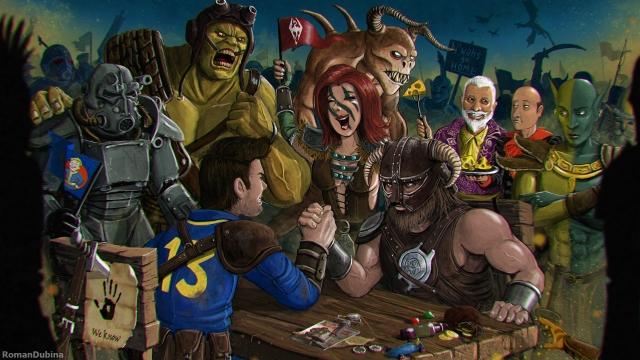 The Elder Scrolls vs Fallout