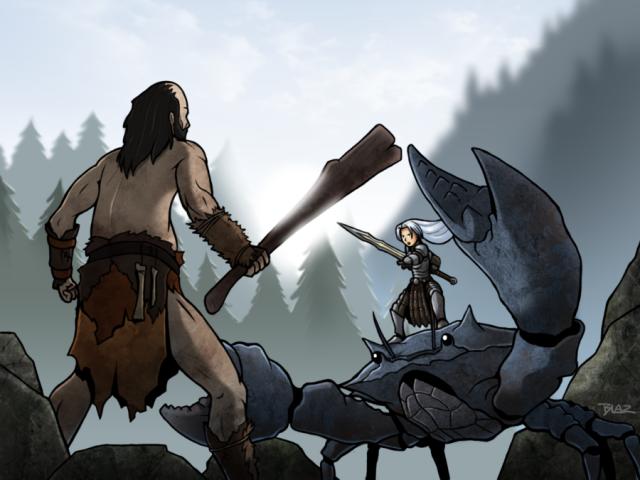 Skyrim: The Crab Mount