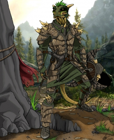 Argonian Warrior