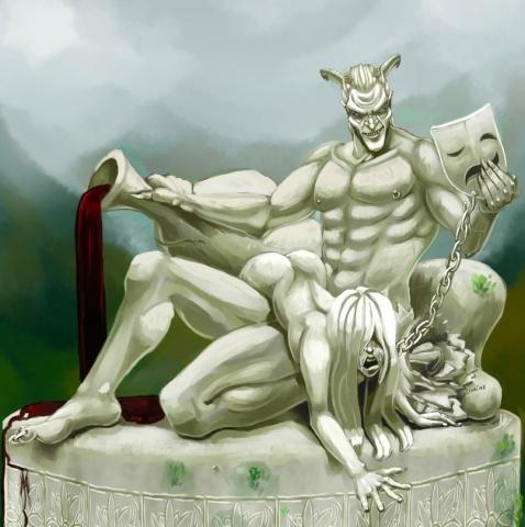 Правильная статуя Сангвина