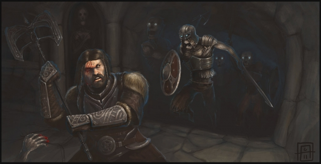 Skyrim Catacombs