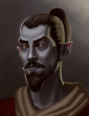 Portrait of a Dunmer