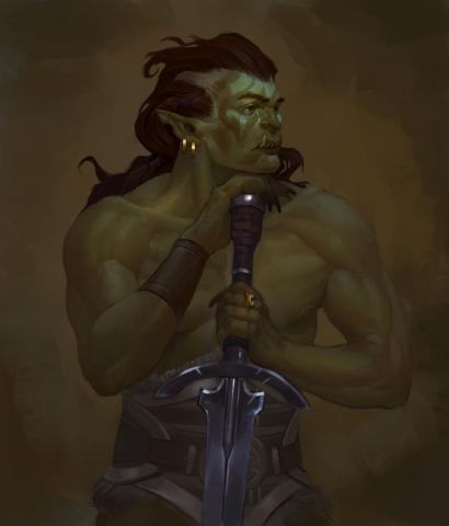 Skyrim Orc