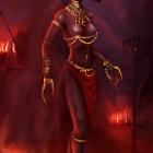 Female ash ghoul
