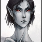 Dunmer: collab-sketch by weapon-S