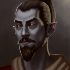 Portrait of a Dunmer