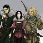 three wise hunters