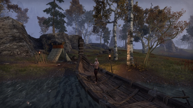 Рыбалка с лодочки