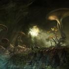 Fungal Grotto Concept Art