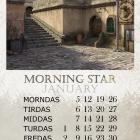 Календарь Тамриэля на 2015 год