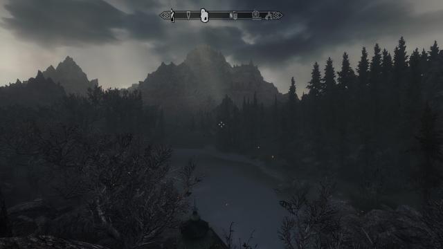 Над лесом