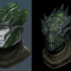 Стеклянный шлем