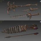 Хитиновое и нордское оружия