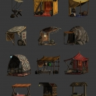 Рыночные палатки