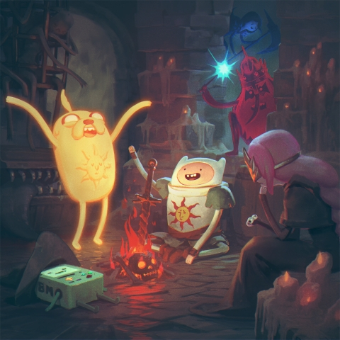 Dark Souls with Finn & Jake