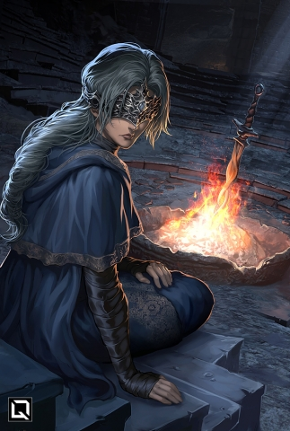 I Tend to the Flame, and Tend to Thee