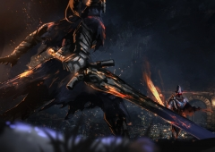 Knight Artorias vs Abyss Watcher